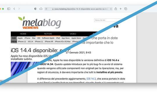 Trasforma il Web in una rivista con Vista Reader Automatica