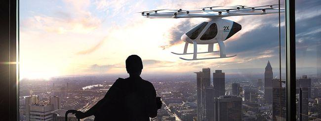 Test a Dubai per il taxi volante di Volocopter