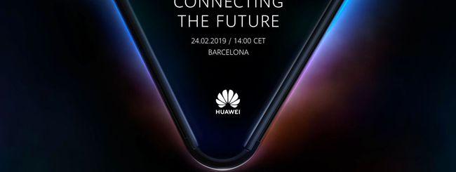 Smartphone pieghevole Huawei, prima foto ufficiale