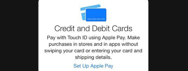 iOS 8.1 Beta 2 svela le schermate di configurazione di Apple Pay
