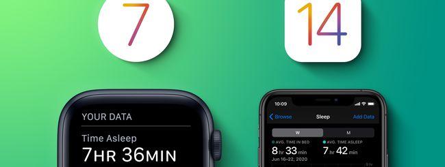 iOS 14 & watchOS 7: funzione Tracciamento Sonno