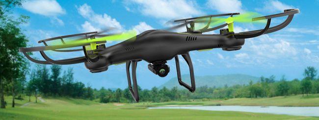 A Milano il drone 5G per la sicurezza