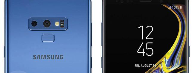 Samsung Galaxy Note 9 e Tab S4, S Pen in comune?