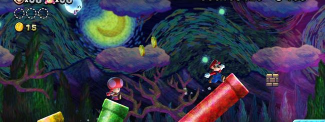 New Super Mario Bros U Deluxe su Nintendo Switch