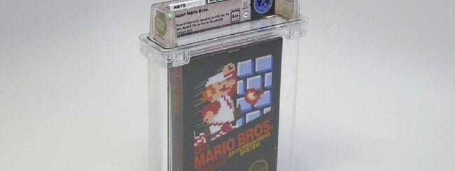 Super Mario Bros, copia venduta a 100 mila dollari