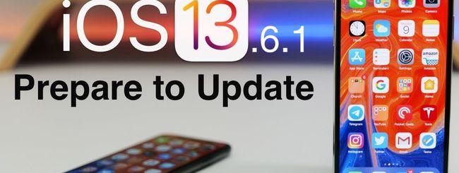 iOS 13.6.1 risolve i problemi di Spazio e il display verdastro