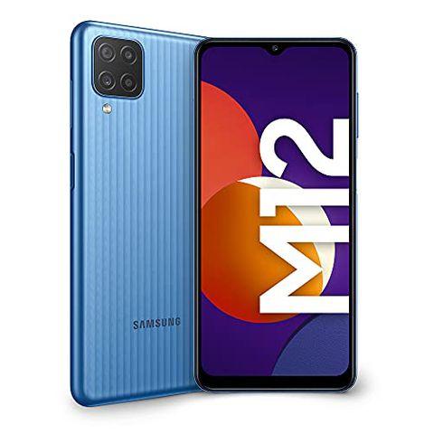Samsung Galaxy M12 (Light Blue)