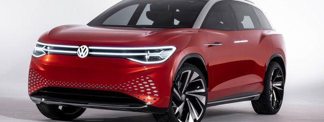 Auto elettriche: ID Roomzz, il SUV di Volkswagen