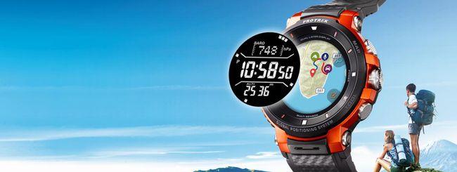 IFA 2018: Casio WSD-F30, smartwatch con Wear OS
