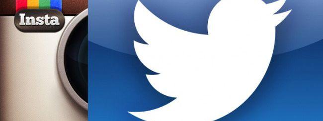 Instagram vs. Twitter, inizia la guerra delle foto