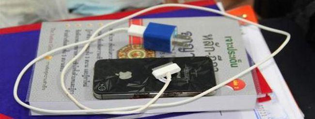 iPhone 4S, nuovo caso di folgorazione in Thailandia