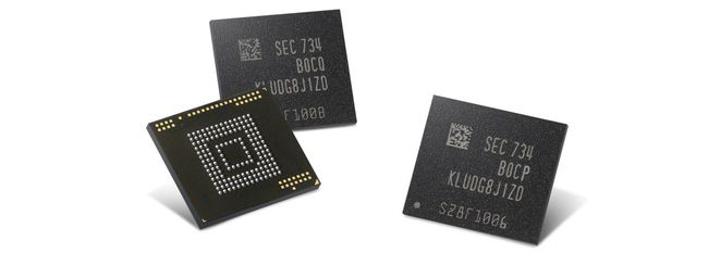 Samsung annuncia nuove memorie flash automotive