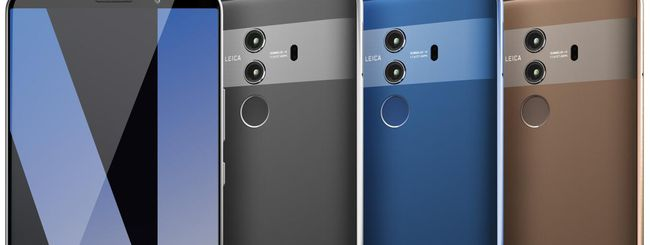 Huawei Mate 10 Pro sfiderà il Galaxy Note 8?