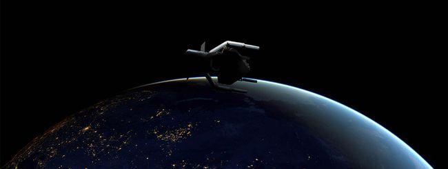 ESA pulirà l'orbita dai detriti spaziali nel 2025