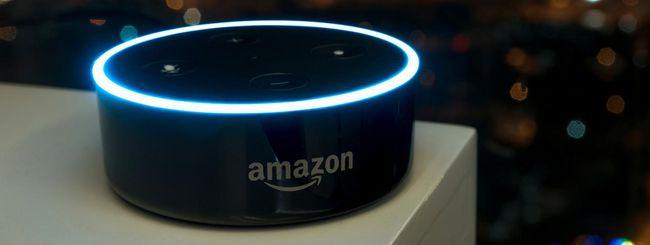 Alexa invia le conversazioni audio senza permesso