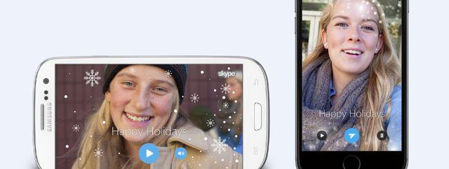 Skype annuncia novità per festeggiare il Natale