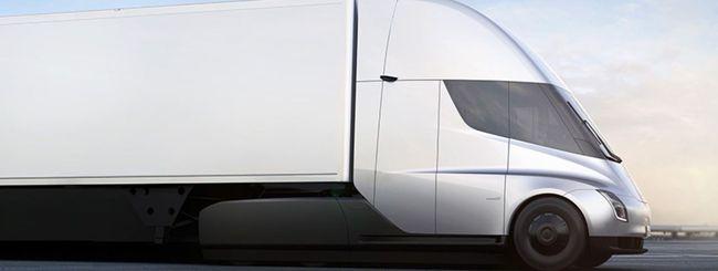 UPS ha ordinato 125 Tesla Semi