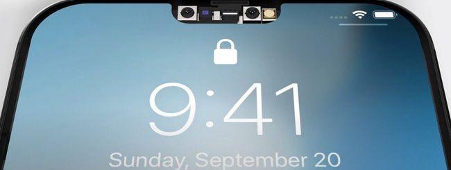 iPhone 13, solito design ma Notch più piccolo