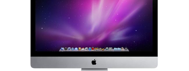 Nuovi iMac con Thunderbolt ad aprile?