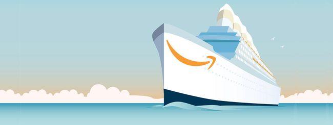 Amazon consegna via nave