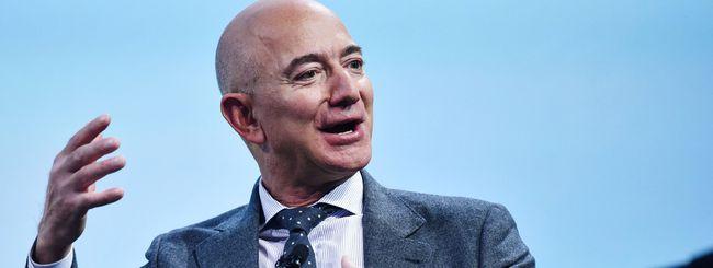 Jeff Bezos lascia la guida di Amazon