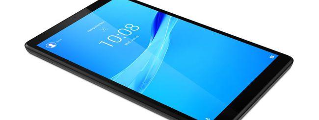 Lenovo Tab M7 e M8, tablet per la famiglia