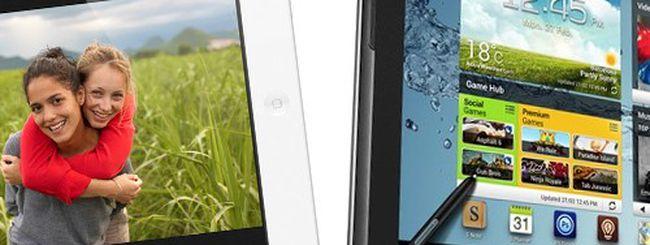 Nuovo iPad vs. Samsung Galaxy Note 10.1