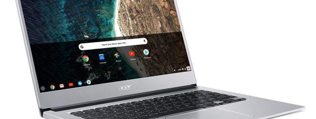 IFA 2018: Acer Chromebook 514, bello e conveniente
