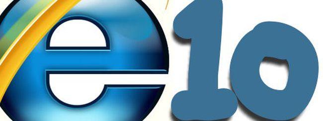 Il primo passo di Internet Explorer 10