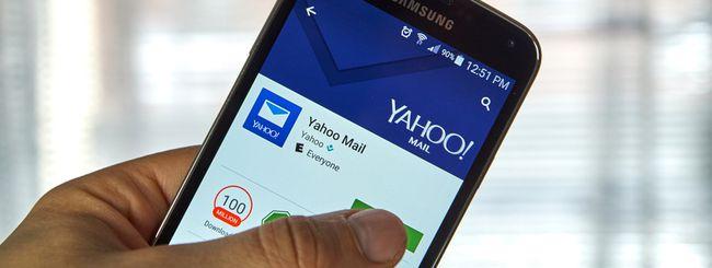 Yahoo Mail, novità per le app iOS e Android