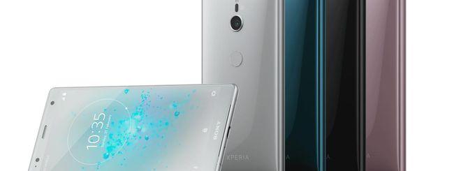 Sony Xperia XZ2 e XZ2 Compact ricevono Android Pie