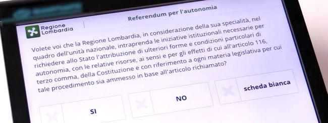 Com'è andata con il voto elettronico in Lombardia?