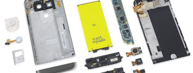 LG G5, smartphone modulare e riparabile
