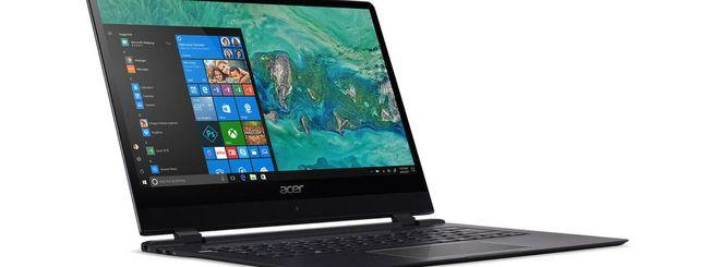CES 2018: Acer Swift 7, Spin 3 e Nitro 5