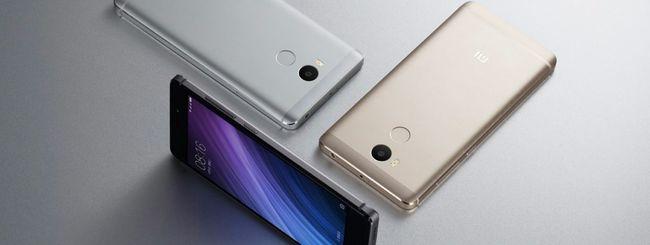Xiaomi annuncia Redmi 4 e Redmi 4A