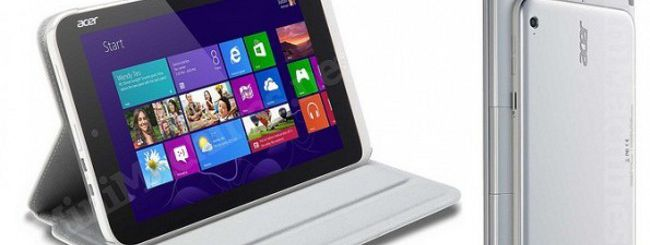Acer Iconia, online un tablet da 8″ con Windows 8