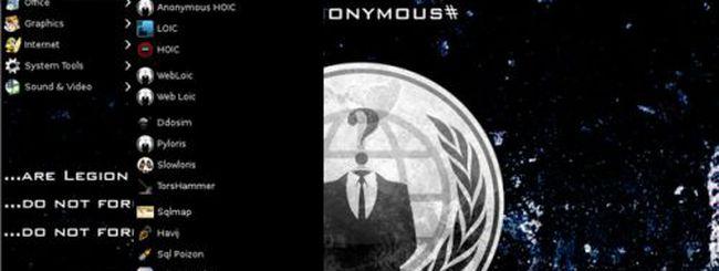 Anonymous OS: il sistema operativo già rimosso