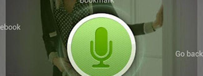 Dolphin Browser, navigazione mediante comandi vocali