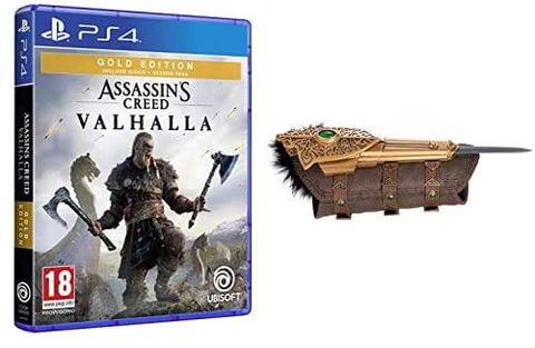 Assassin's Creed Valhalla - Gold Edition PS4 + Hidden Blade Replica