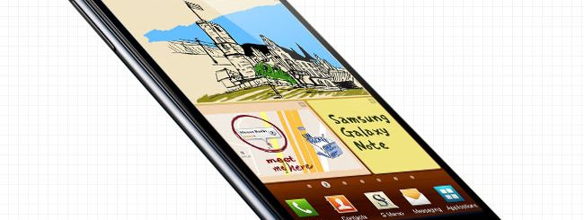 Galaxy Note, in arrivo Android 4.1.2 Jelly Bean