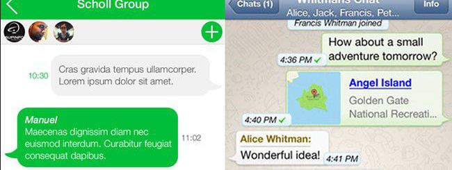 iOS 7 Redesigns: il confronto tra iOS 7 e iOS 6