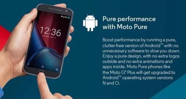 Moto G4 Plus - Android O