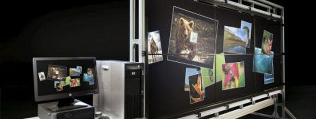 HP VantagePoint: un mega tablet da 132 pollici
