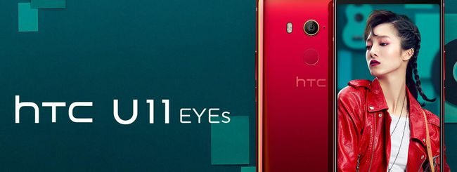 HTC U11 EYEs, phablet con dual camera frontale
