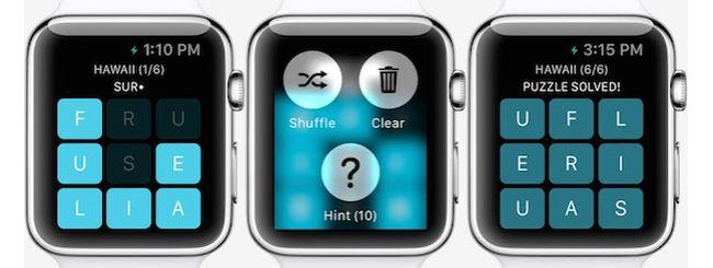 Letterpad, il primo gioco per Apple Watch