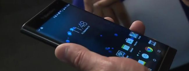 BlackBerry Priv, hands-on imbarazzante del CEO