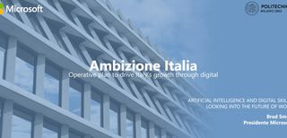 Microsoft lancia Ambizione Italia per la Scuola