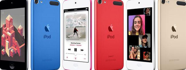 Apple lancia un nuovo iPod Touch