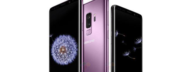 Samsung Galaxy S9, design svelato in 3D