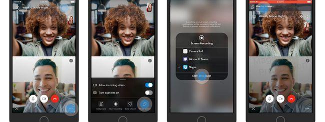 Condividere lo schermo di iPhone e iPad con Skype